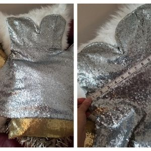 Beautiful strapless Sequin blinged out dress
